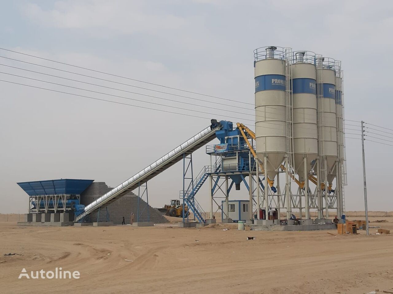 new PROMAX S130-TWN (130m3/h)  STATIONARY Concrete Batching Plant  concrete plant