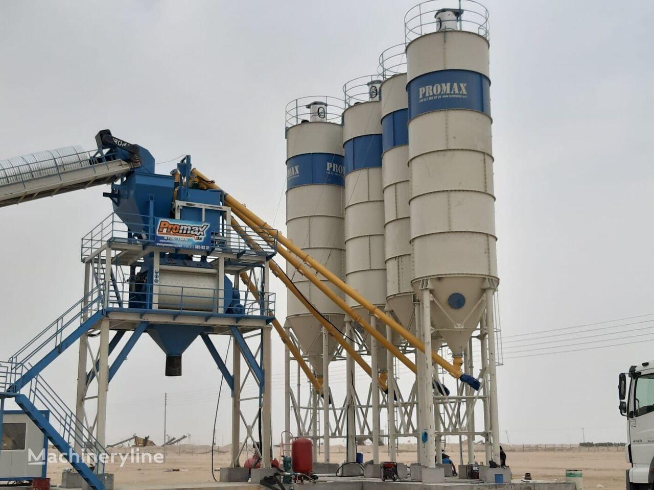 new PROMAX STATIONARY Concrete Batching Plant PROMAX S130 TWN(130m³/h) concrete plant