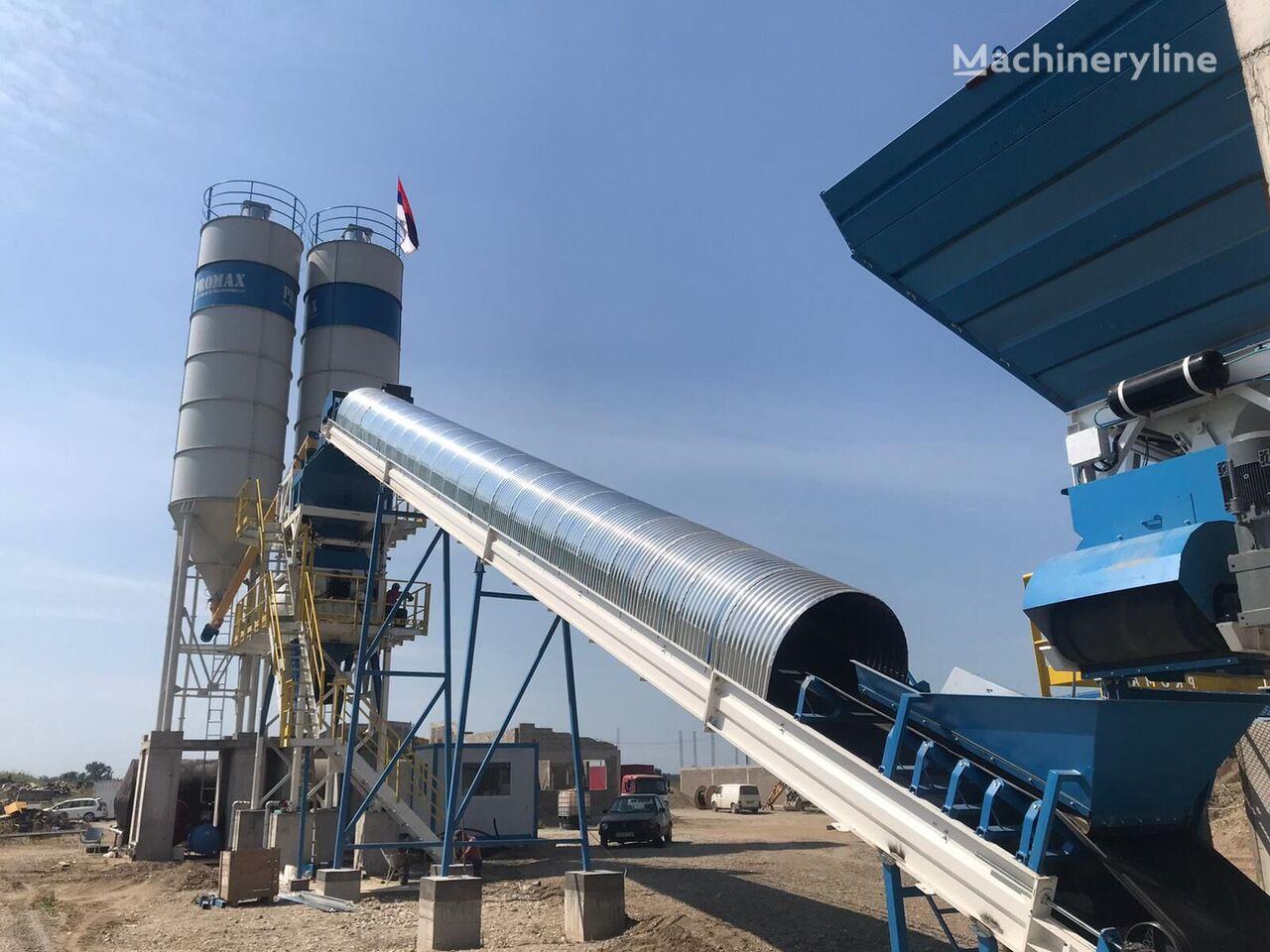 new PROMAX STATIONARY Concrete Batching Plant S100 TWN (100m³/h) concrete plant