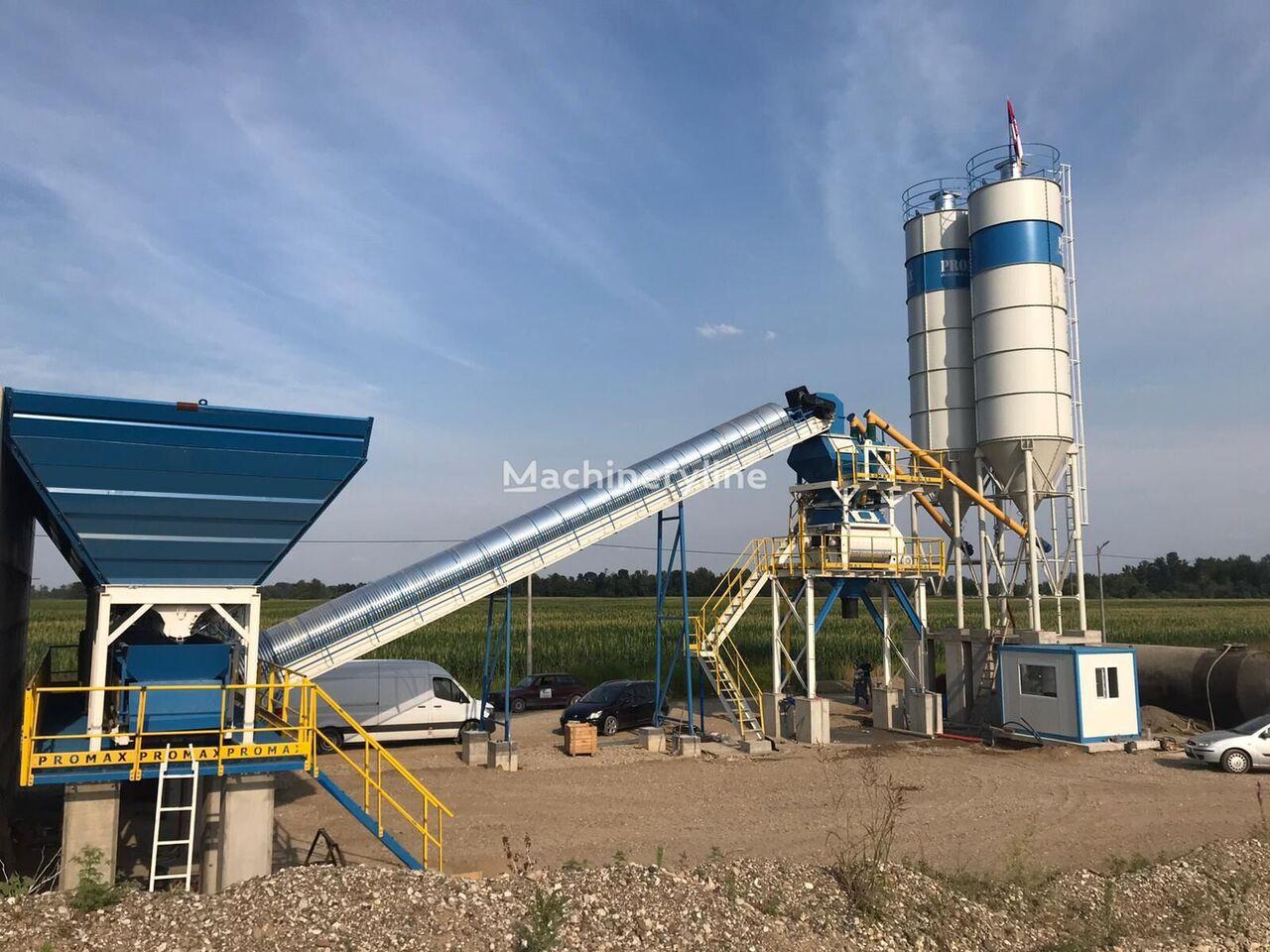 new PROMAX Stationary Concrete Batching Plant S100-TWN(100m3/h) concrete plant
