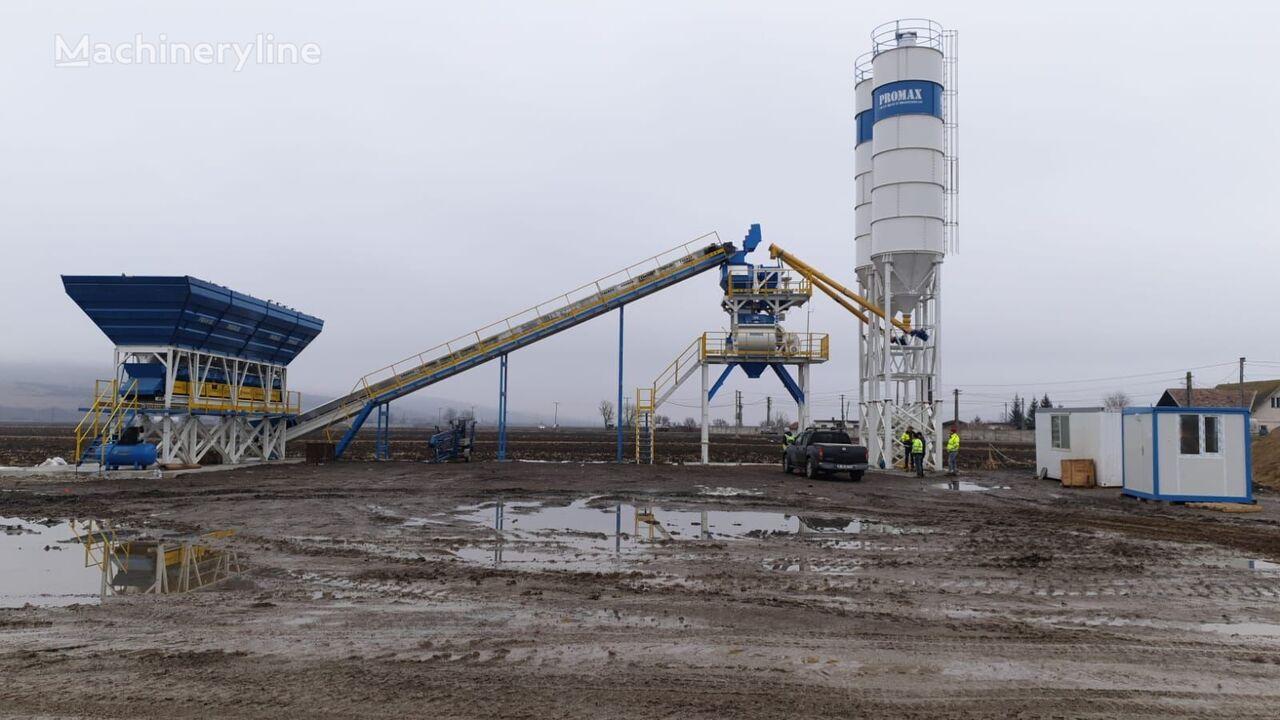 new PROMAX entrale à Béton Stationnaire / Fixe S100-TWN(100m³/h) concrete plant