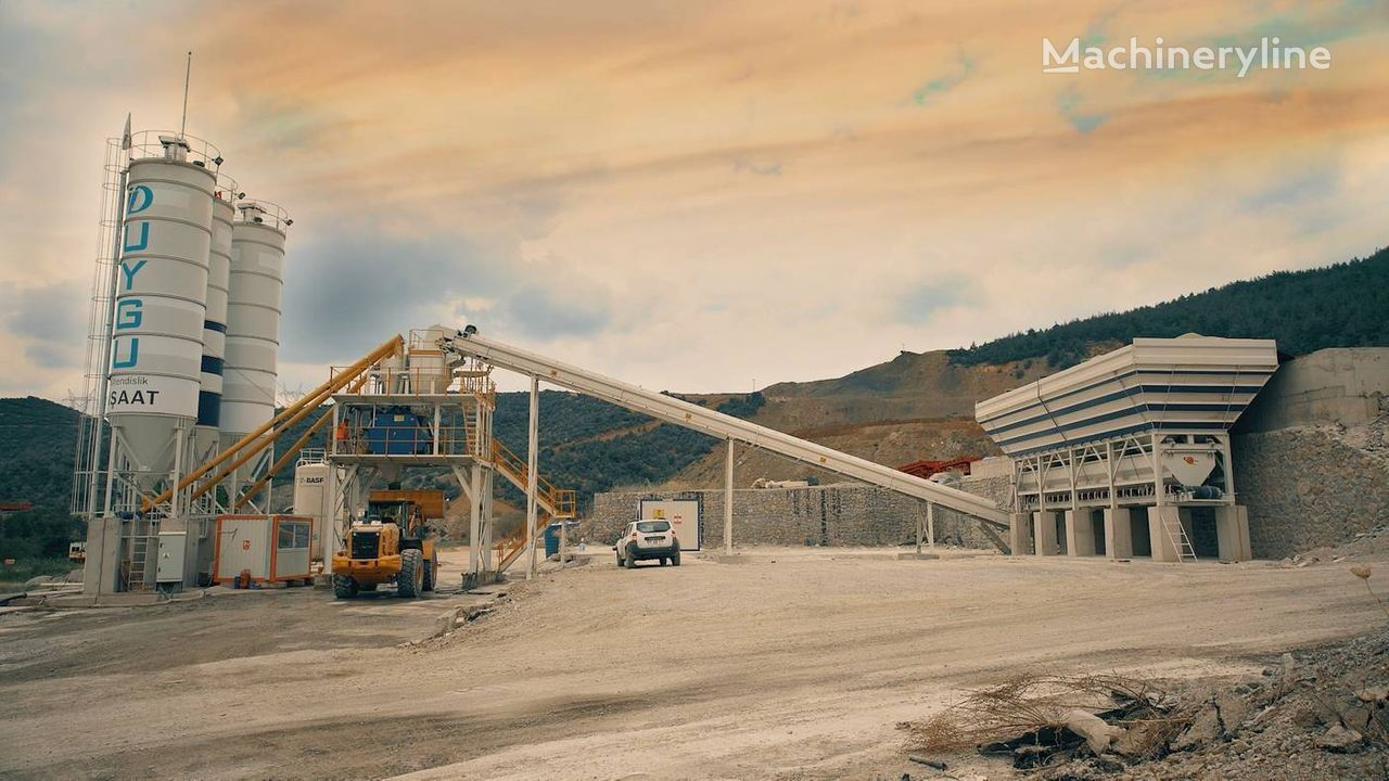 new SEMIX 130 m³/h concrete plant