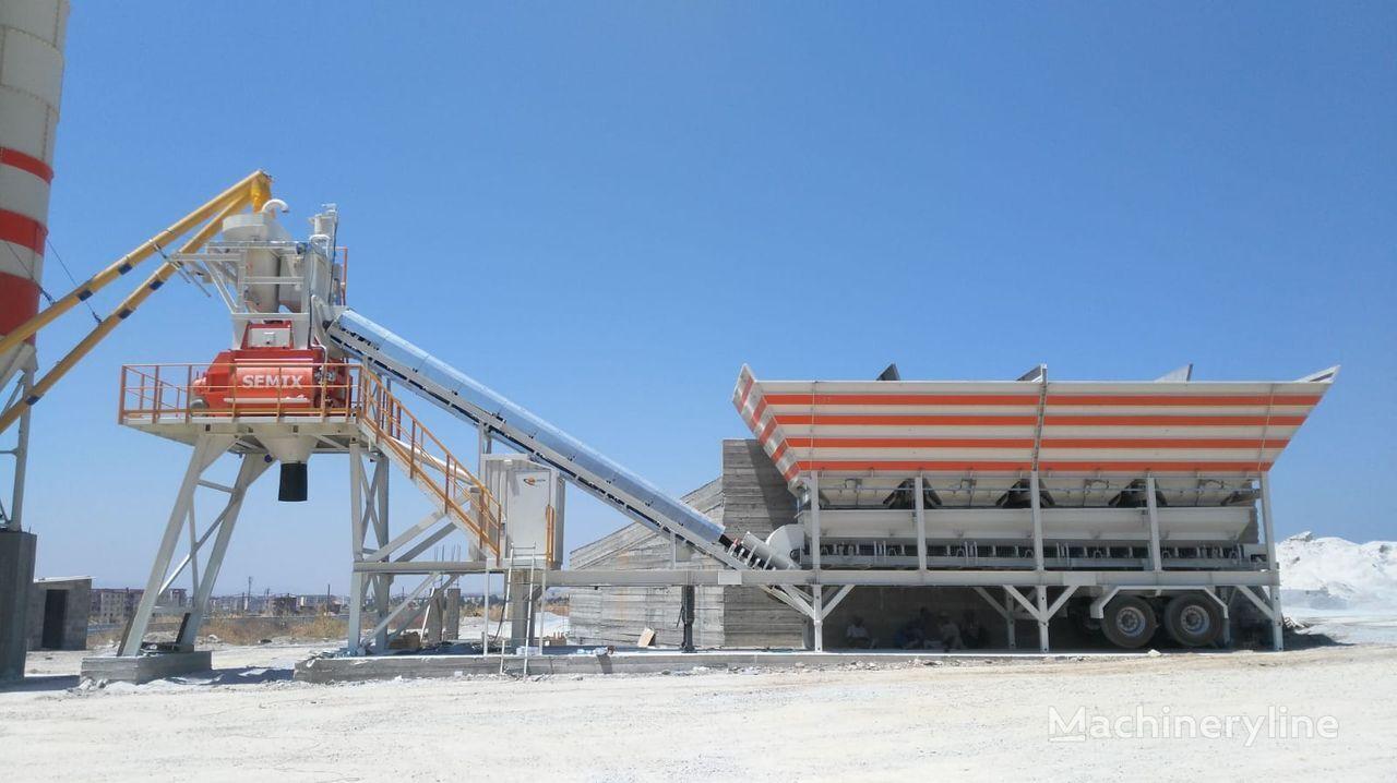 new SEMIX  Mobile 100 S4 MOBILE CONCRETE BATCHING PLANTS 100-112m³/h concrete plant