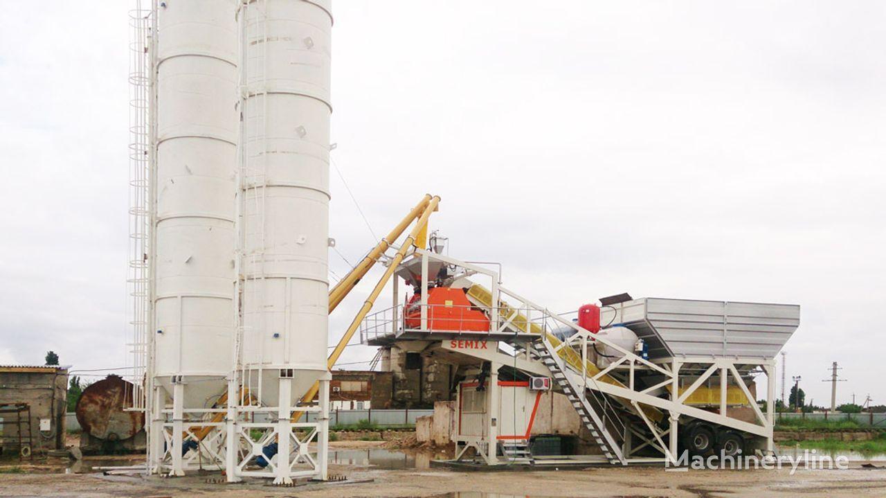 new SEMIX Mobile 60 V MOBILE CONCRETE BATCHING PLANTS 60m³/h concrete plant