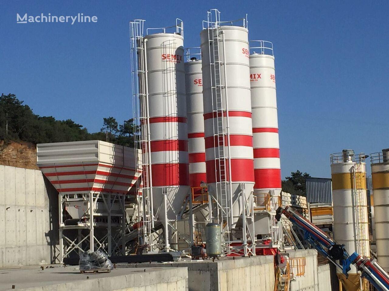 SEMIX Stationary 200 Concrete Mixing Plant concrete plant