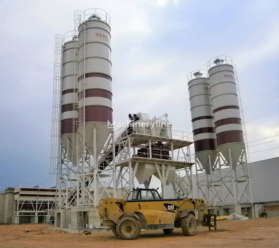 new SEMIX Stationary 200 SEMIX STATIONARY CONCRETE BATCHING PLANTS 200m³/h concrete plant