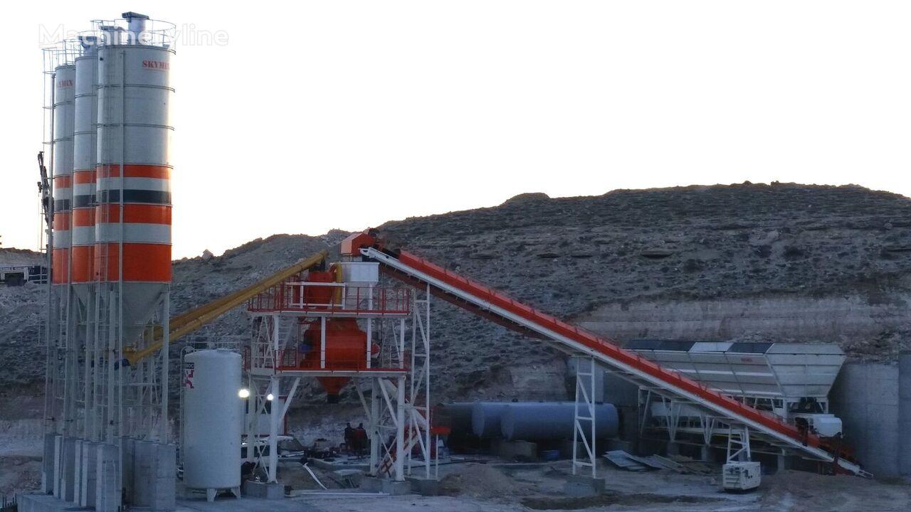 new SKYMIX SKY 100S concrete plant