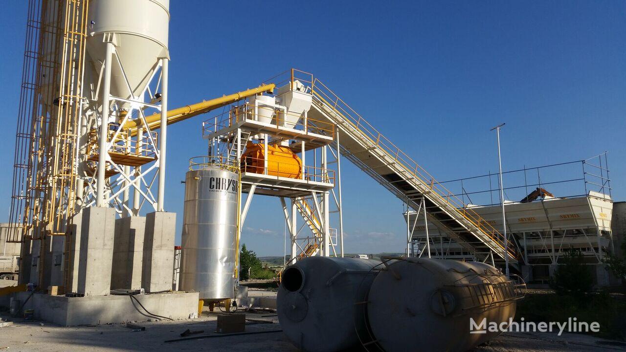 new SKYMIX SKY 130S concrete plant