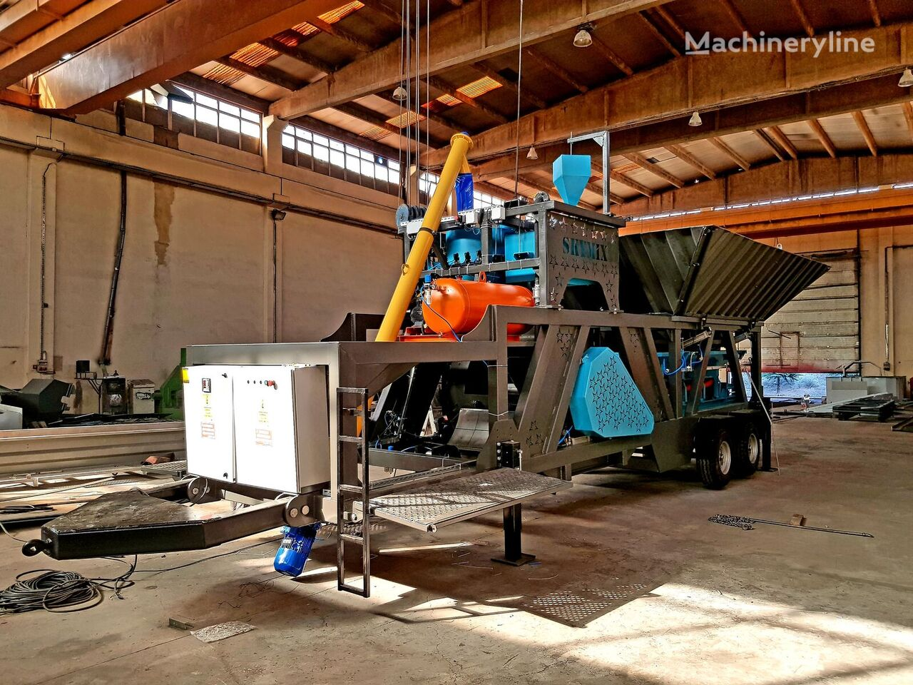 new SKYMIX SKY 35MMS concrete plant