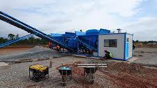 SUMAB EASY TO TRANSPORT! K-60 (60m3/h) mobile concrete plant concrete plant
