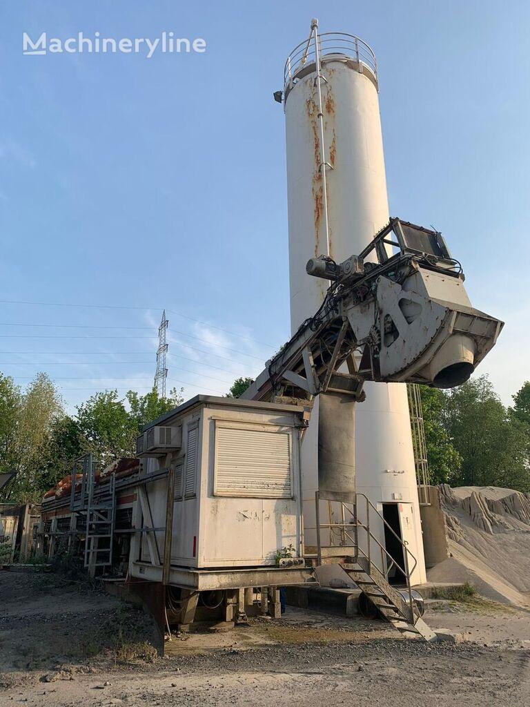 mobile SAE FAYAT EUROCRETE C 165 concrete plant