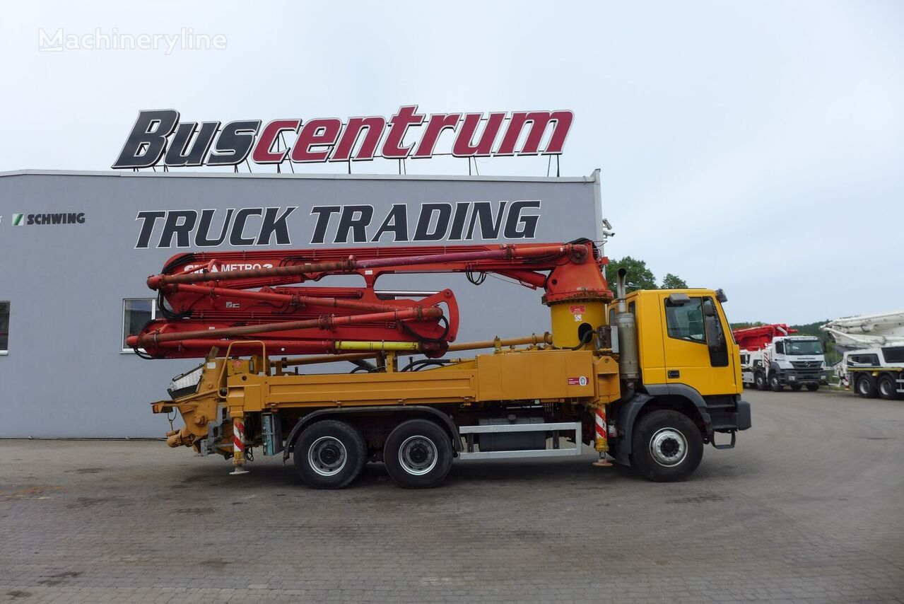 Cifa Metro  on chassis IVECO Magirus MP2603E35  concrete pump