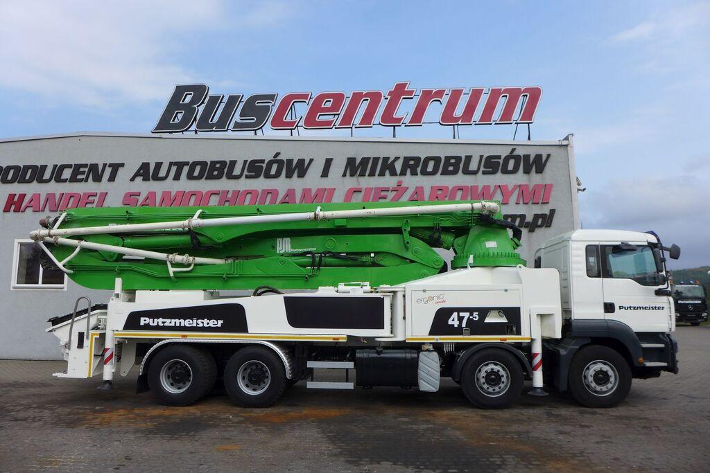 MAN TGA 41.400 8x4 Putzmeister 47m/5 concrete pump