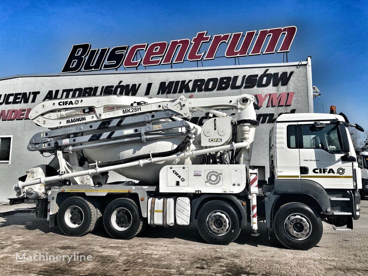 Cifa Magnum MK on chassis MAN TGS 35 concrete pump