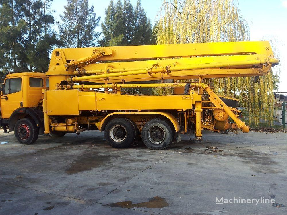 MERCEDES-BENZ 1992, SCHWING 32XL concrete pump