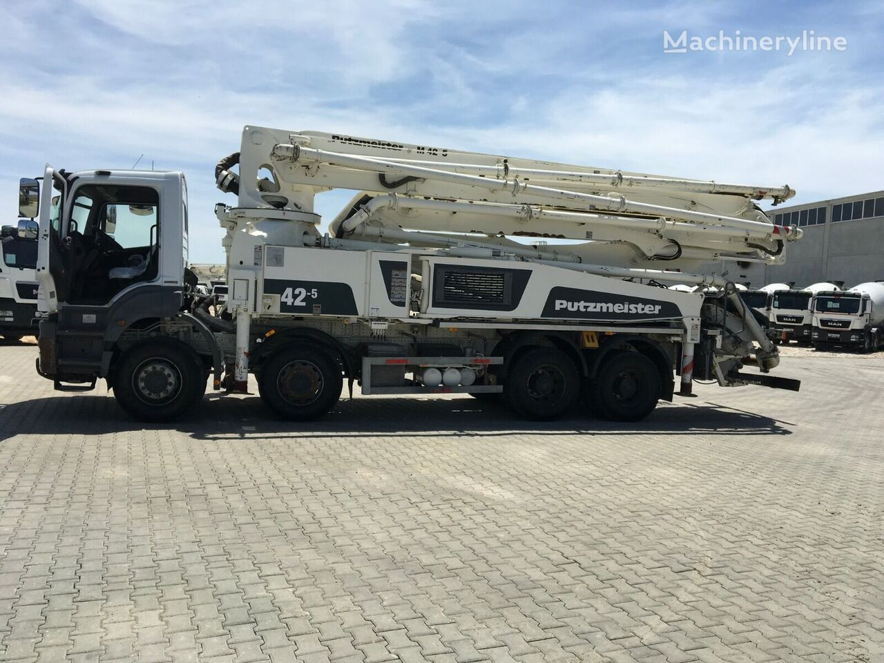 MERCEDES-BENZ 2016 MODEL AXOR 4140 WITH 2016 MODEL PUTZMEISTER 42-5 M, 2385 HO concrete pump
