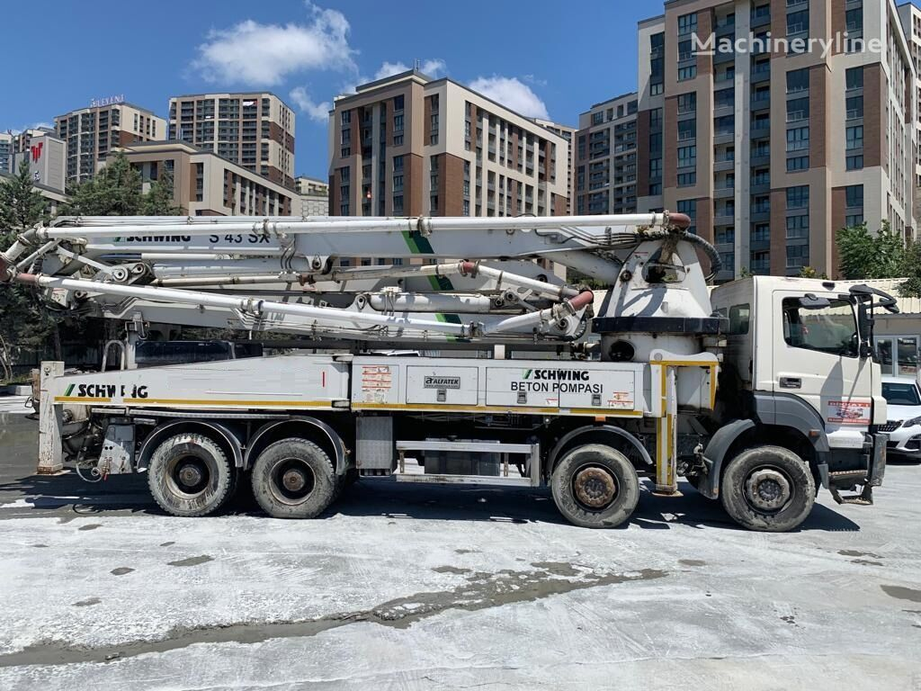 MERCEDES-BENZ 4140  concrete pump