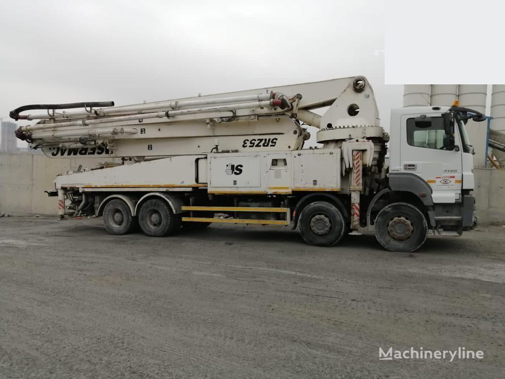 Sermac 5RZ53 on chassis MERCEDES-BENZ 4140  2012 YEAR 5RZ 53 SERMAC  concrete pump