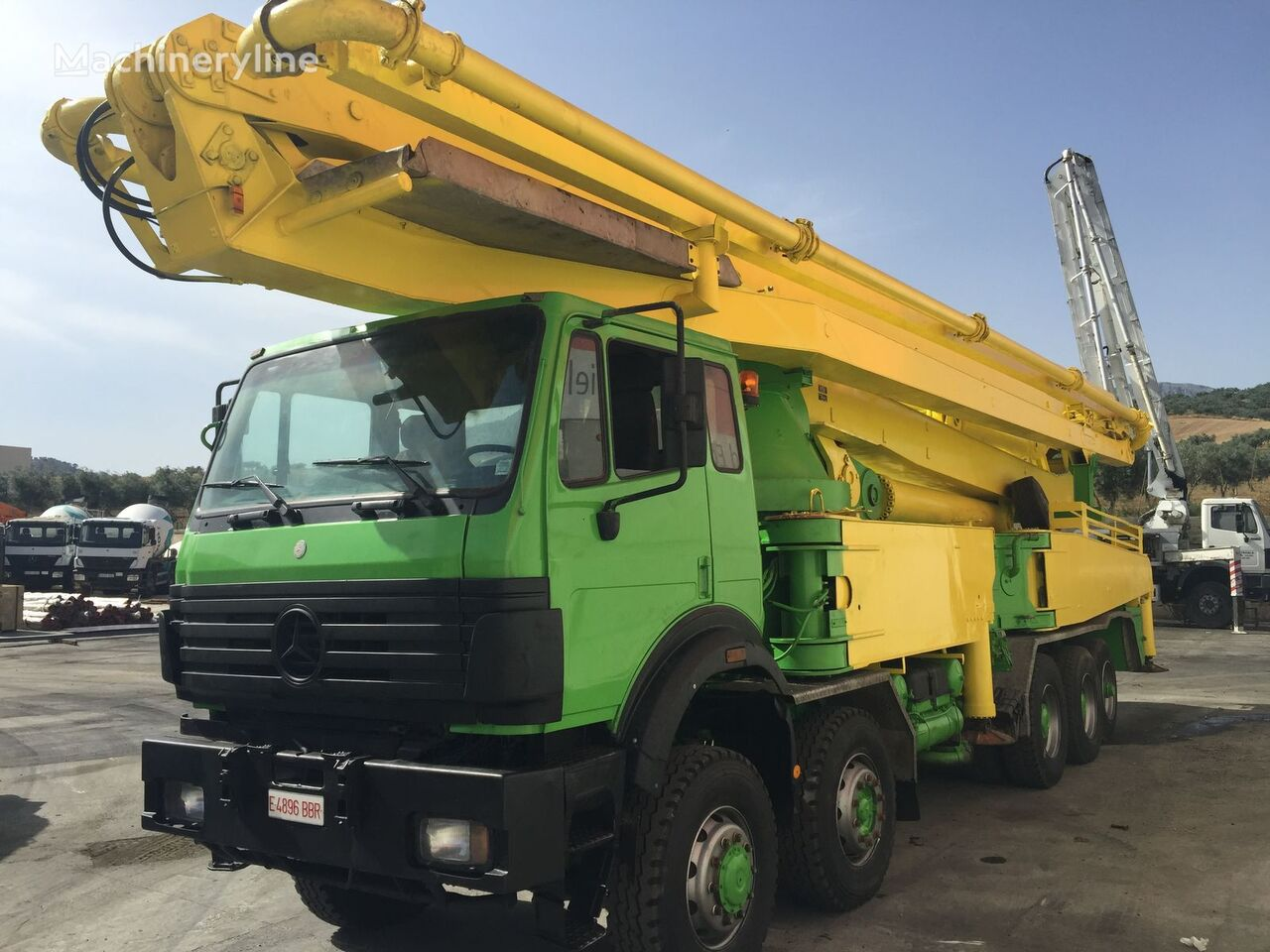 MERCEDES-BENZ 5050 concrete pump