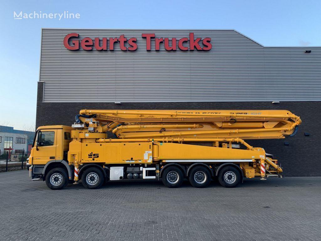 MERCEDES-BENZ ACTROS 5041 10X4 + SERMAC 6 RZ 56 METER CONCREET PUMP concrete pump
