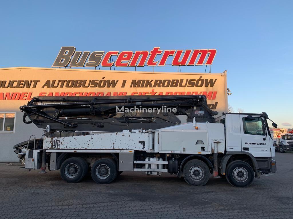 MERCEDES-BENZ Actros 3241 8x4 Putzmeister 42-5 m  concrete pump