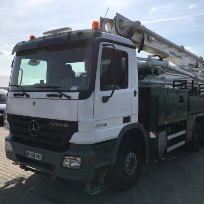 Putzmeister 36 on chassis MERCEDES-BENZ Actros 3336 concrete pump