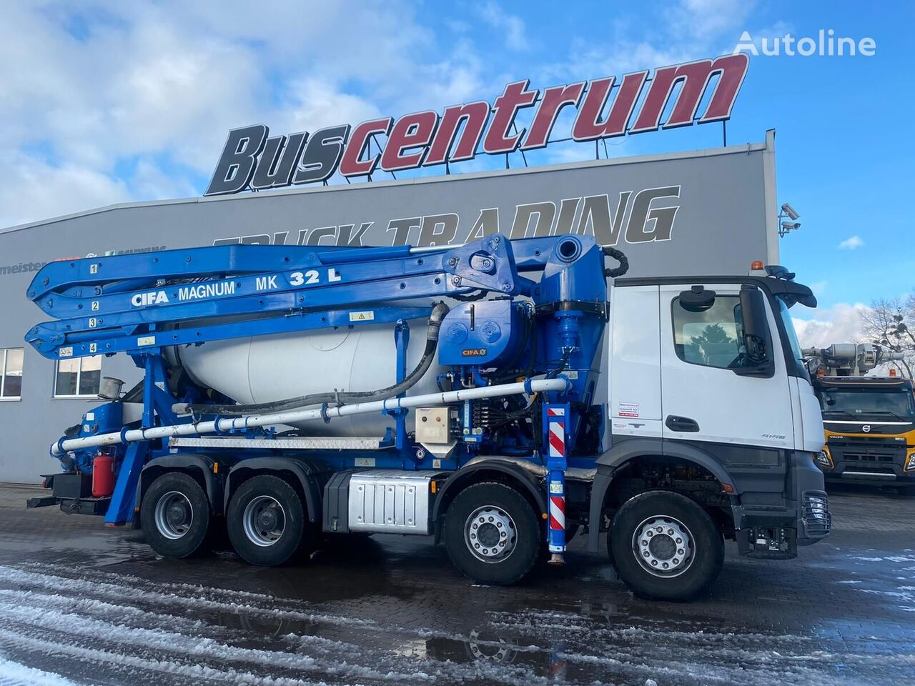 Cifa Magnum MK 32  on chassis MERCEDES-BENZ Arocs 4145 concrete pump