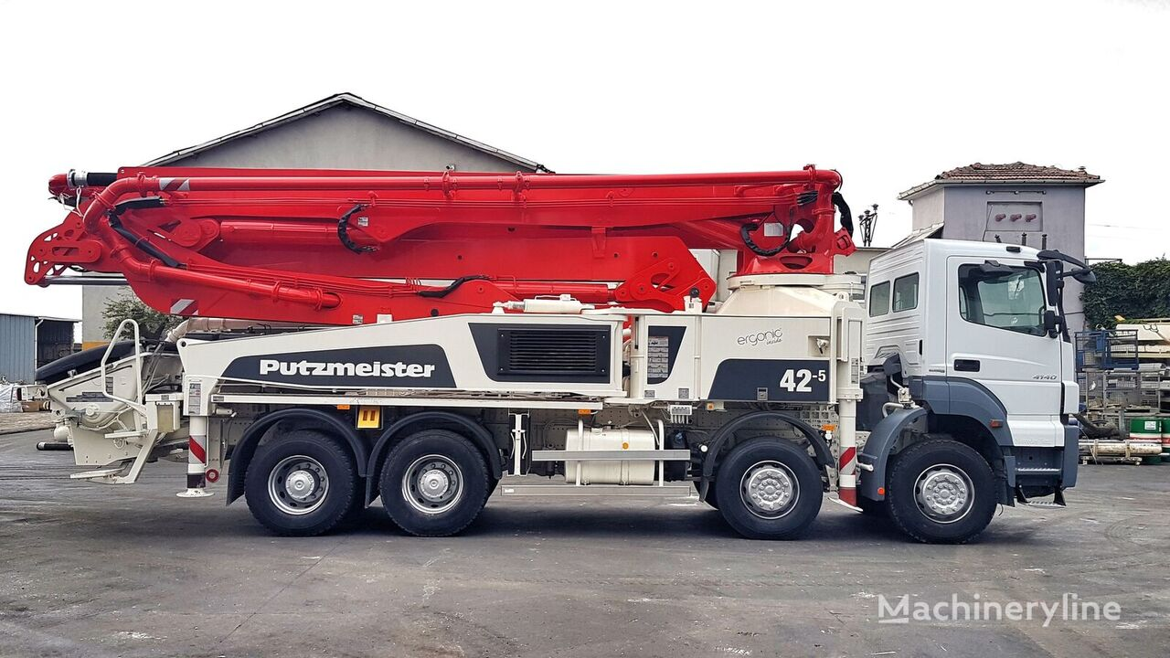 Putzmeister BSF 42-5.16H ERGONIC on chassis MERCEDES-BENZ Axor 4140  concrete pump
