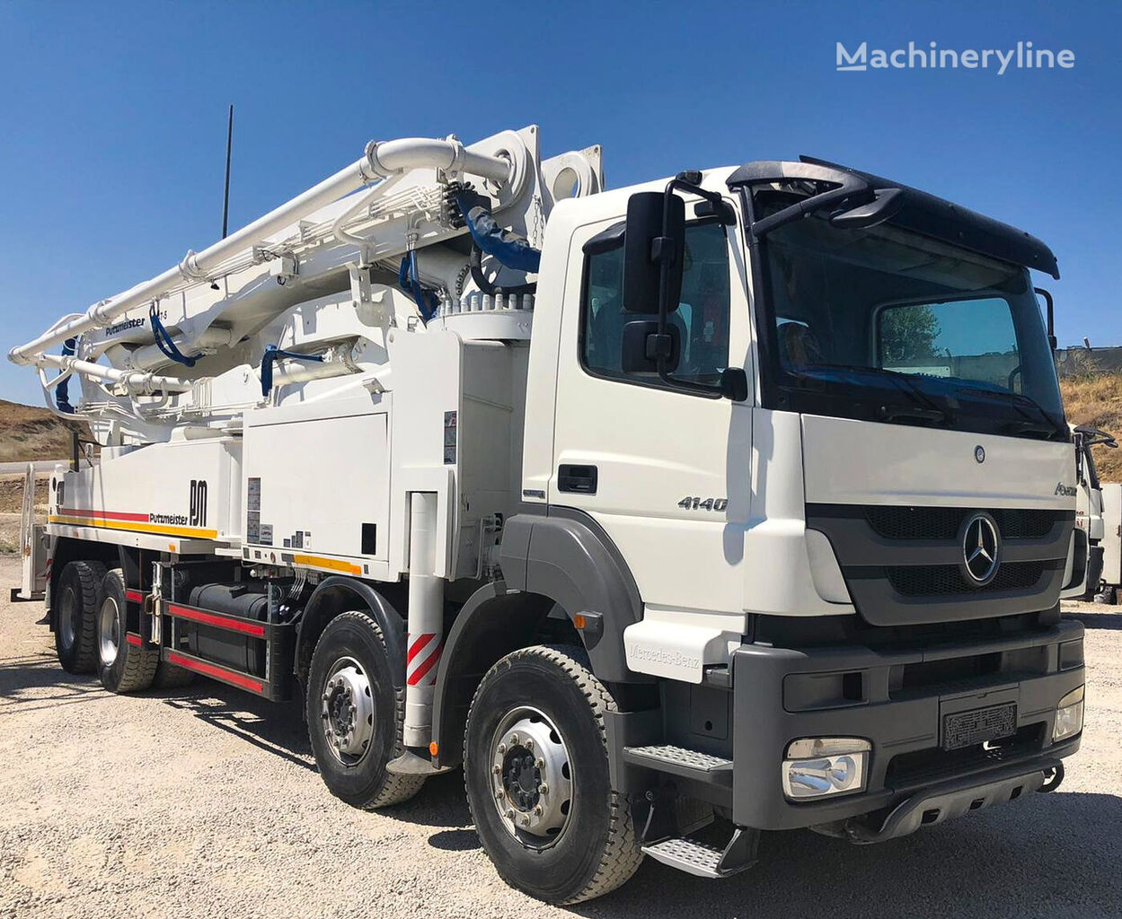 Putzmeister 47-5 ergonic 2013 on chassis MERCEDES-BENZ Axor 4140 concrete pump