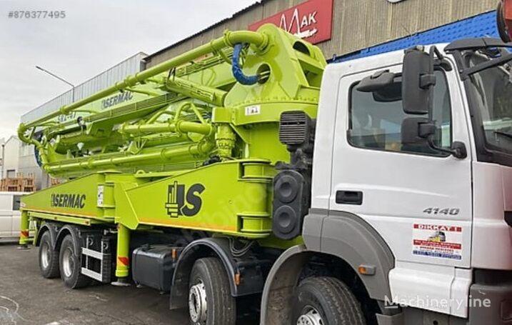 Sermac 47M on chassis MERCEDES-BENZ Axor 4140 concrete pump