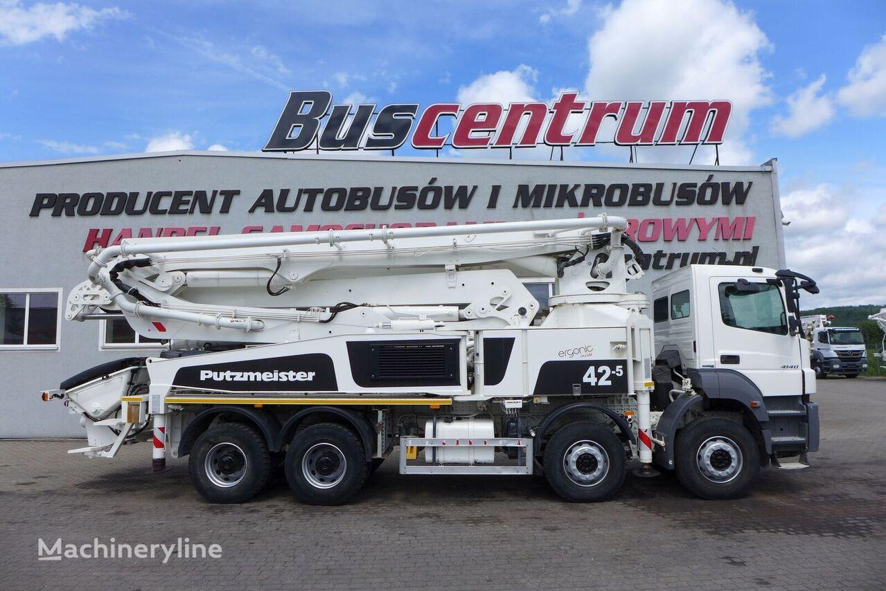 MERCEDES-BENZ Axor 4140 8x4 Putzmeister 42-5 m concrete pump
