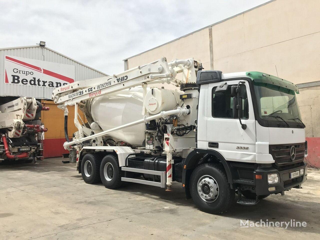 MERCEDES-BENZ actros 3332 + cifa concrete pump