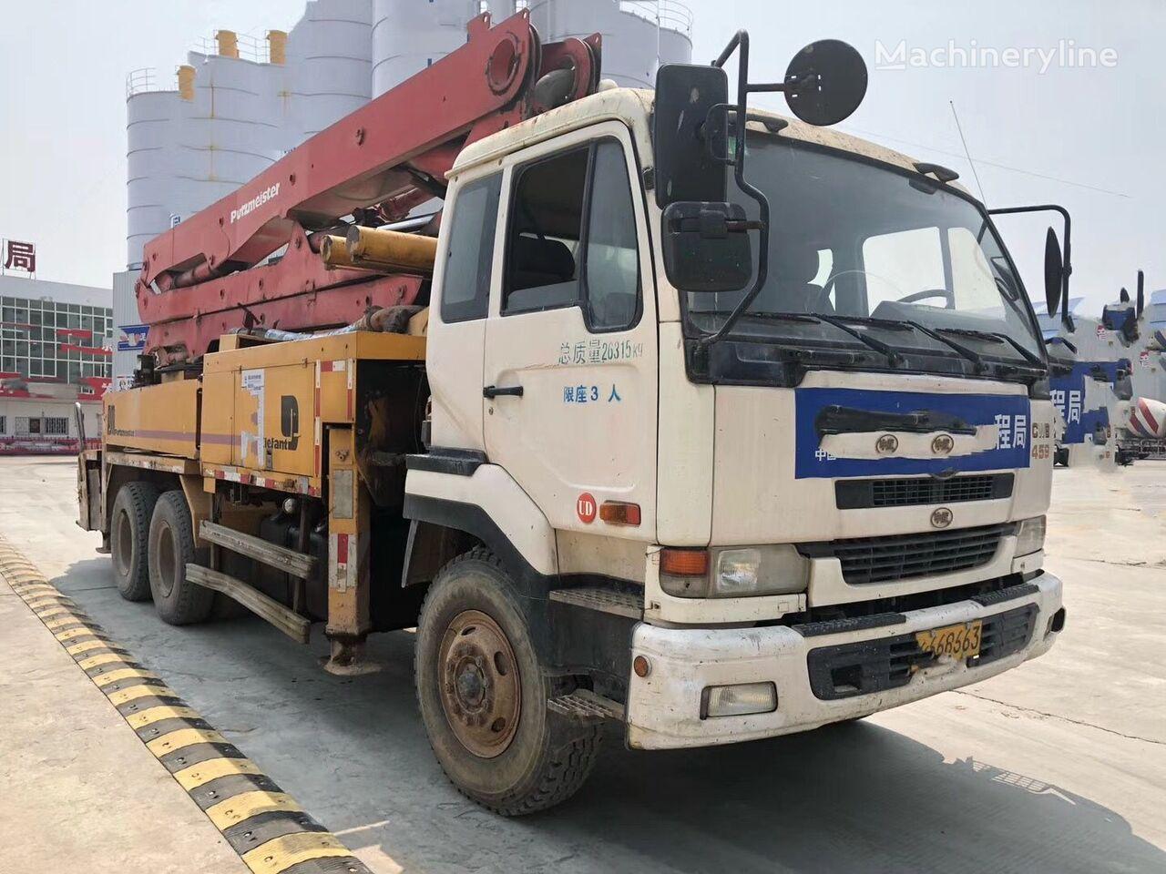PUTZMEISTER concrete pumps for sale, truck mounted concrete pump