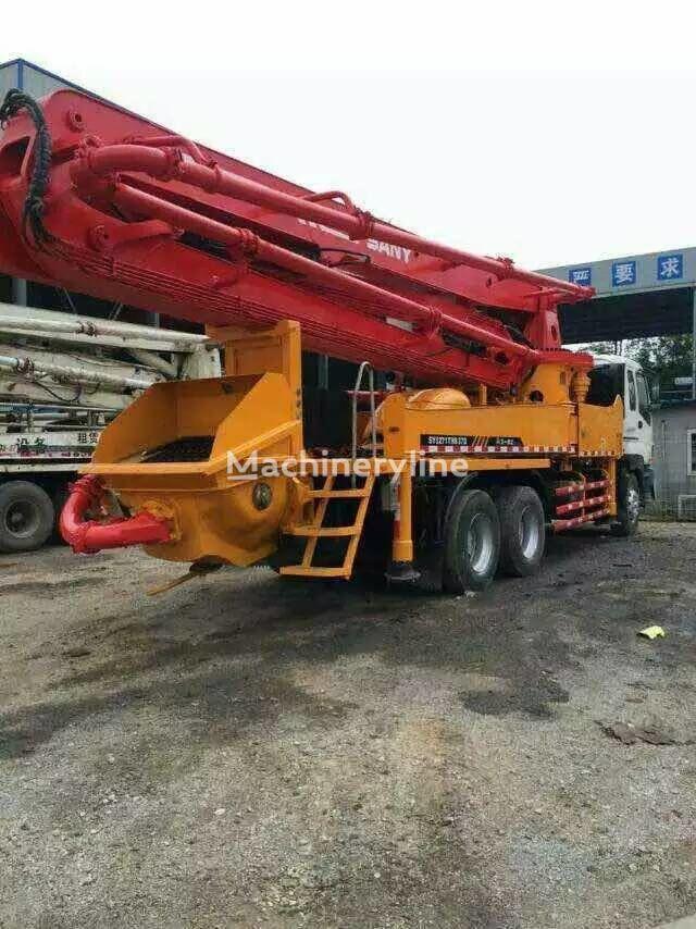 Putzmeister  on chassis SANY 36m 37m 42m 45m 50m 52m concrete pump
