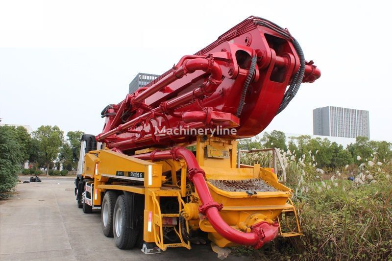 Putzmeister 45 M on chassis SANY SY5411THB concrete pump