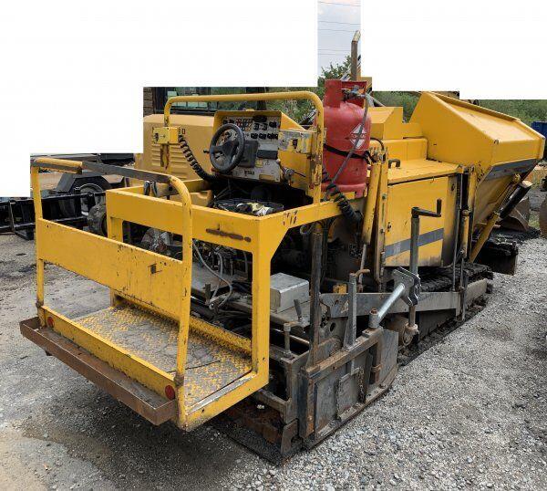 BITELLI BB 621 80t/h crawler asphalt paver