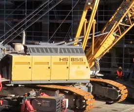 LIEBHERR HS855 crawler cranes for sale, buy new or used LIEBHERR