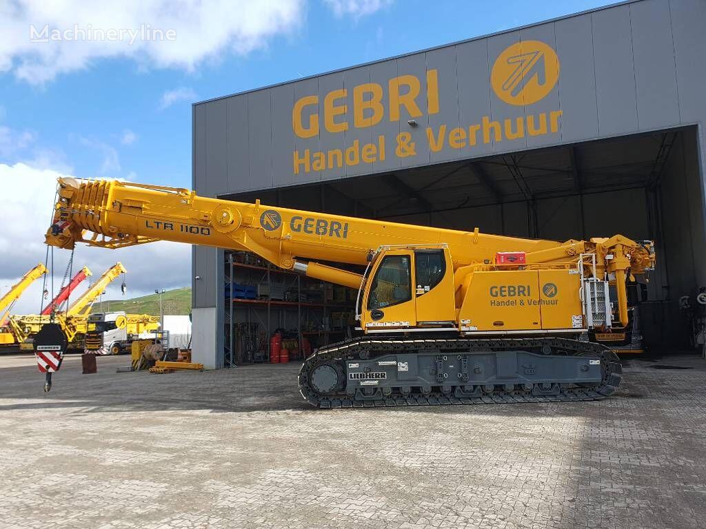 LIEBHERR LTR1100 crawler crane