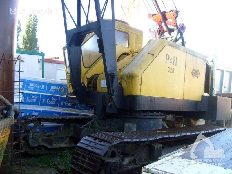 P&H 320 crawler crane