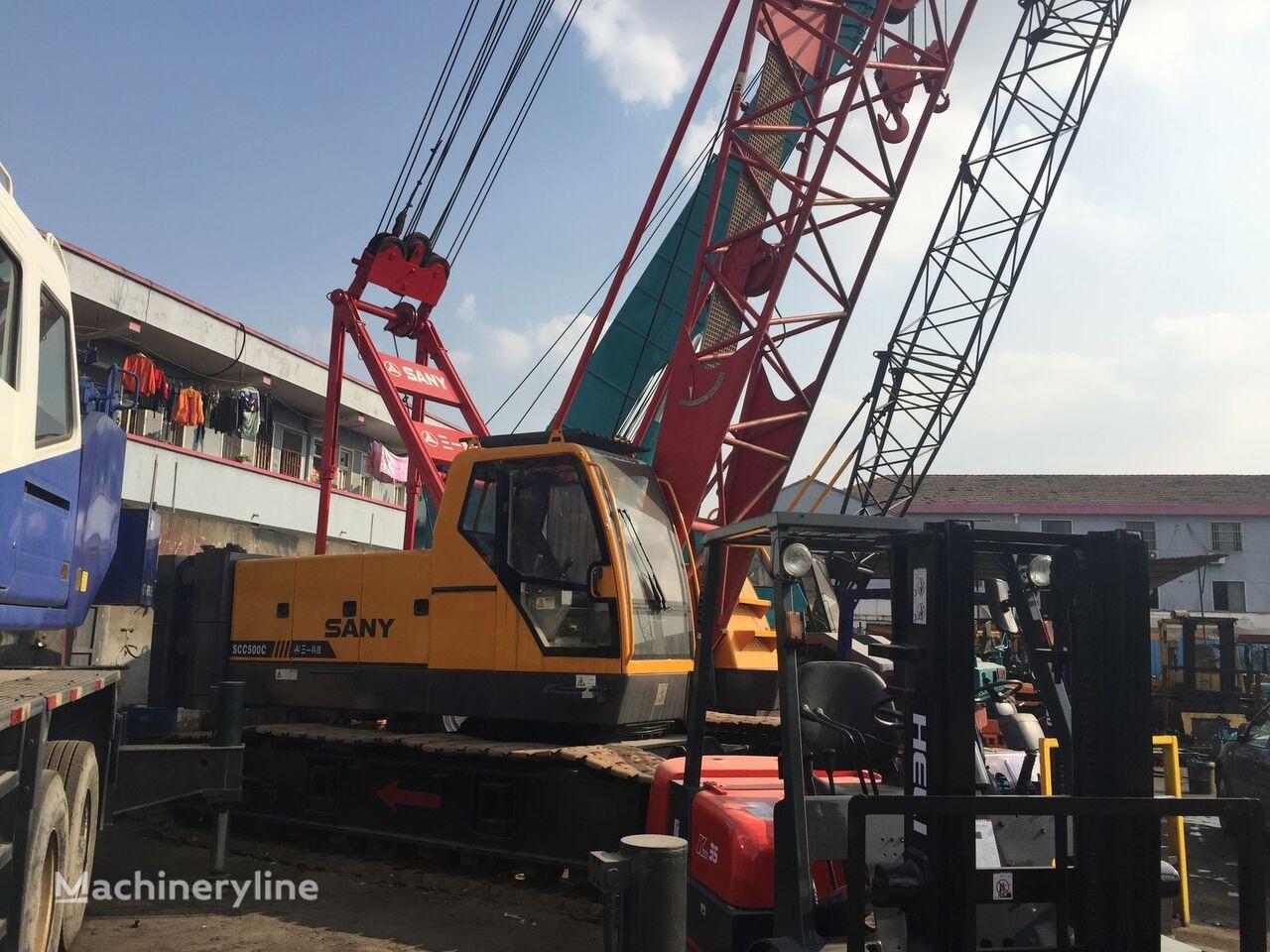 SANY SCC500C crawler crane