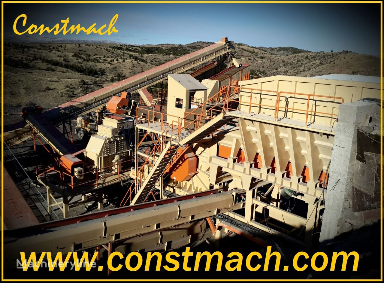 new CONSTMACH 500-600 tph CAPACITY CRUSHING PLANT FOR GRANITE AND BASALT crushing plant