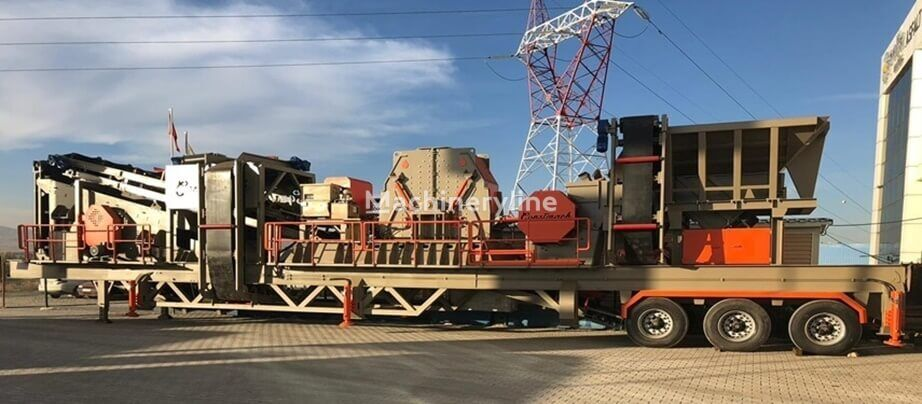 new CONSTMACH MOBILE CRUSHING PLANT – 50-60 ton per hour CAPACITY crushing plant