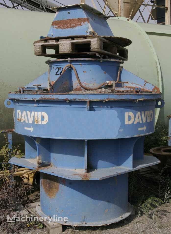 David 75N - Vertical crusher crushing plant