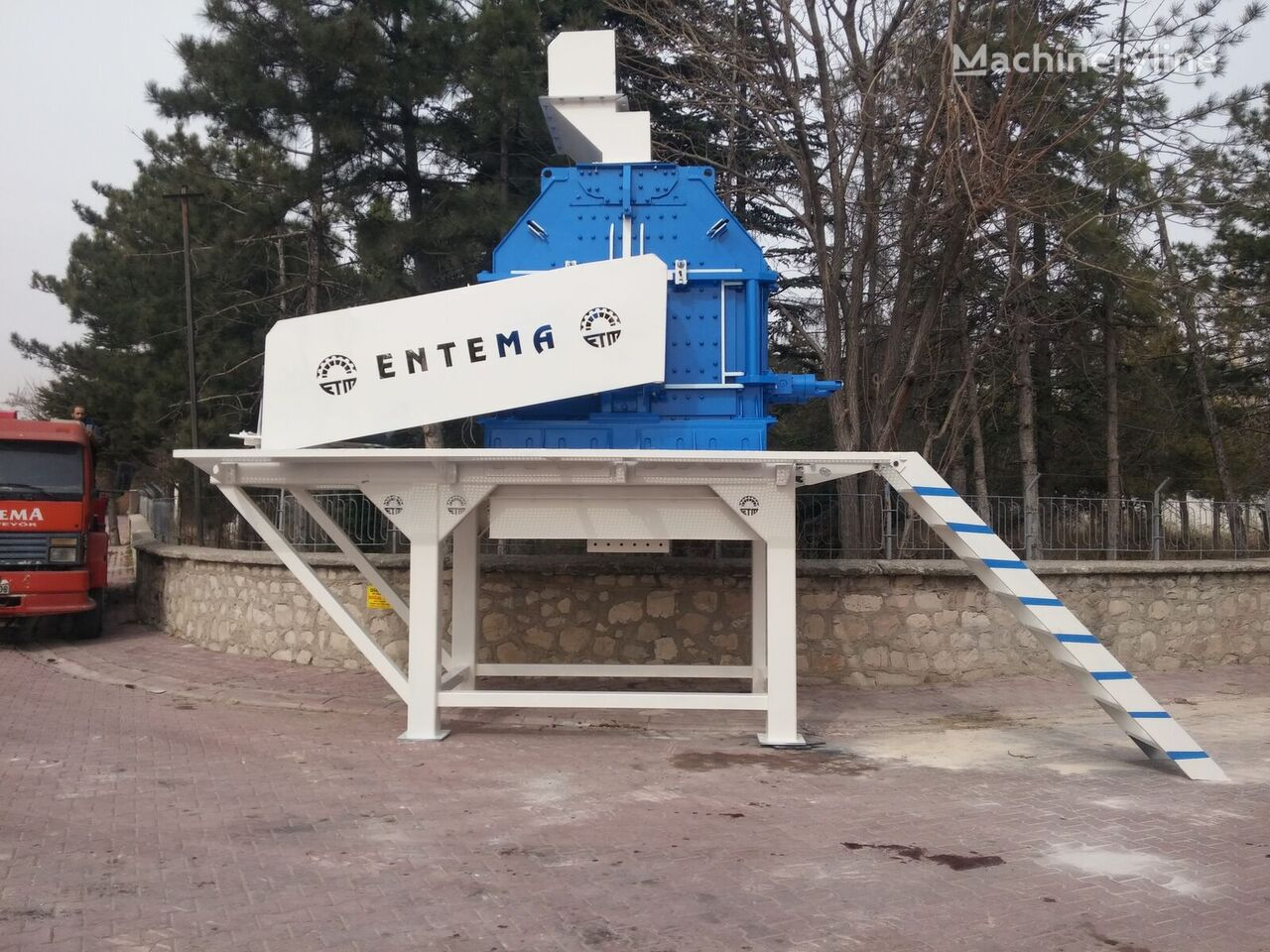 new ENTEMA TERTIARY CRUSHER crushing plant