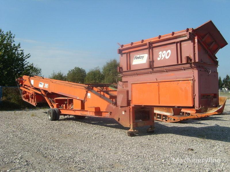 FINLAY 390 crushing plant