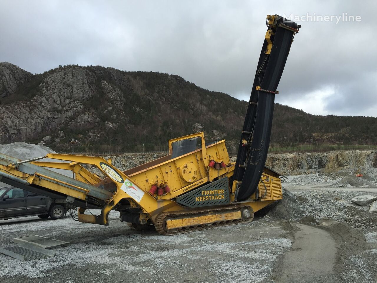 KEESTRACK Frontier crushing plant