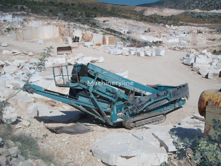 POWERSCREEN CHIEFTAIN 600 crushing plant