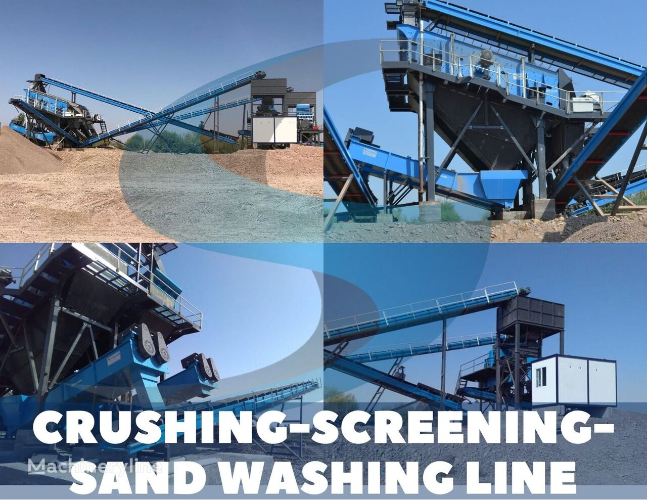 new SERMADEN 250 TPH FIXED CRUSHING-SCREENING-WASHING PLANT crushing plant