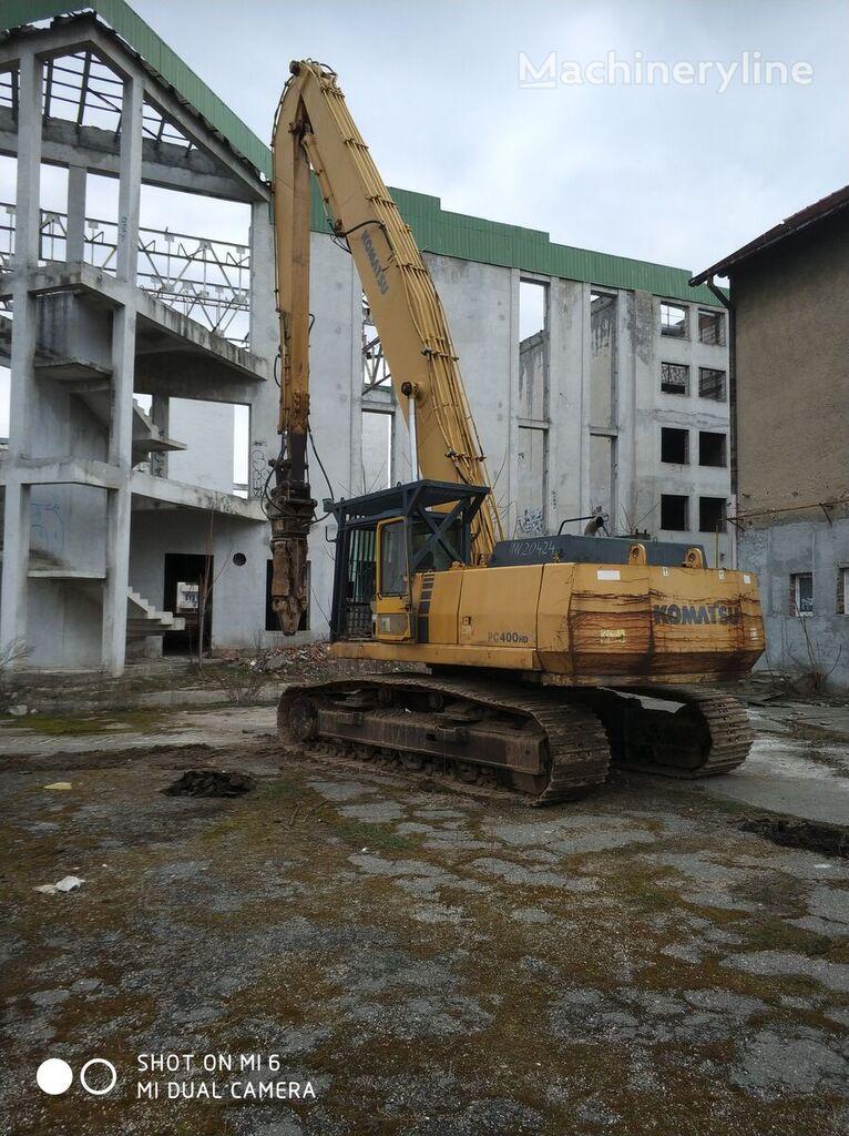 KOMATSU PC 400 HD demolition excavator