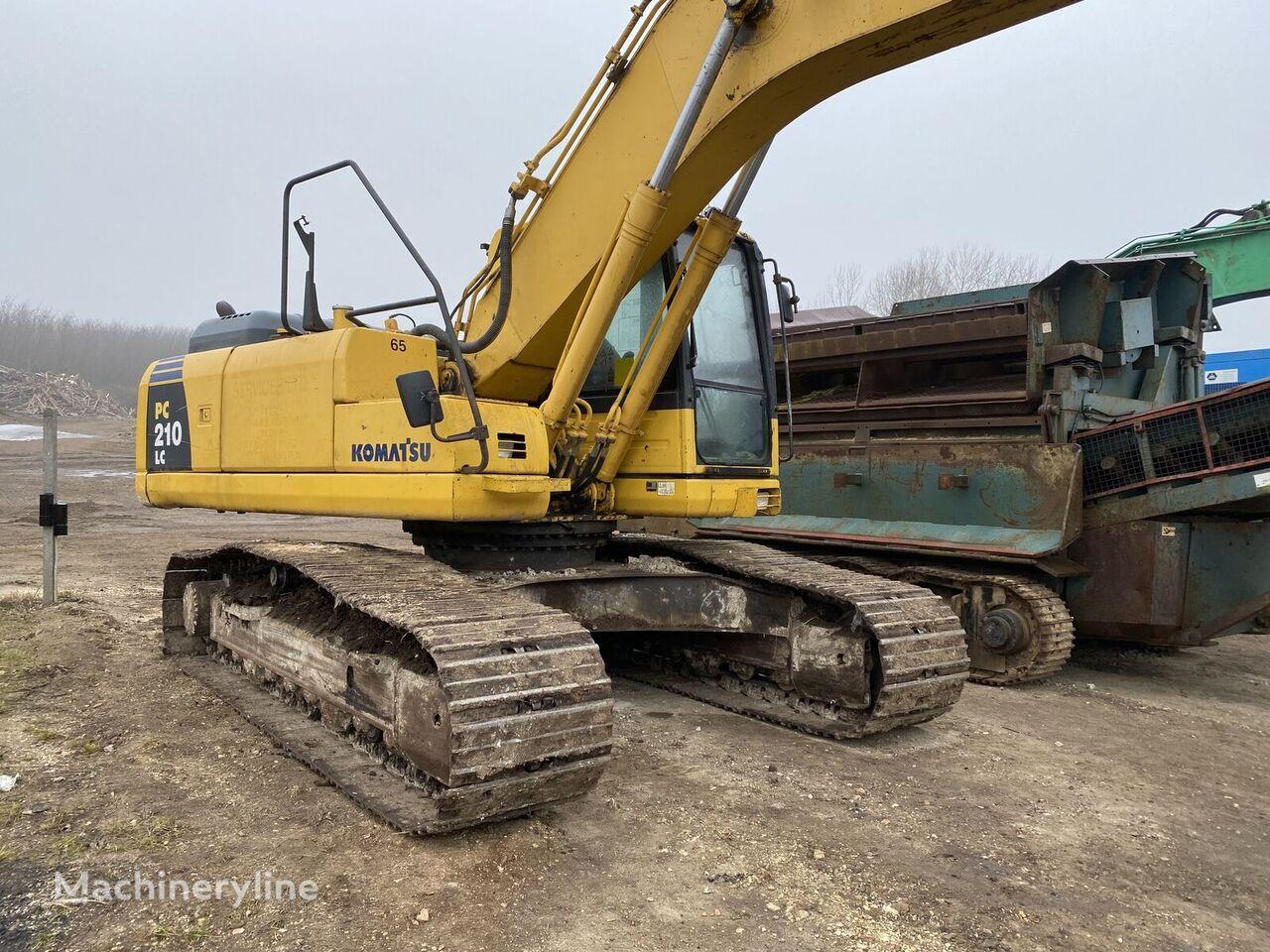 KOMATSU Pc210 demolition excavator